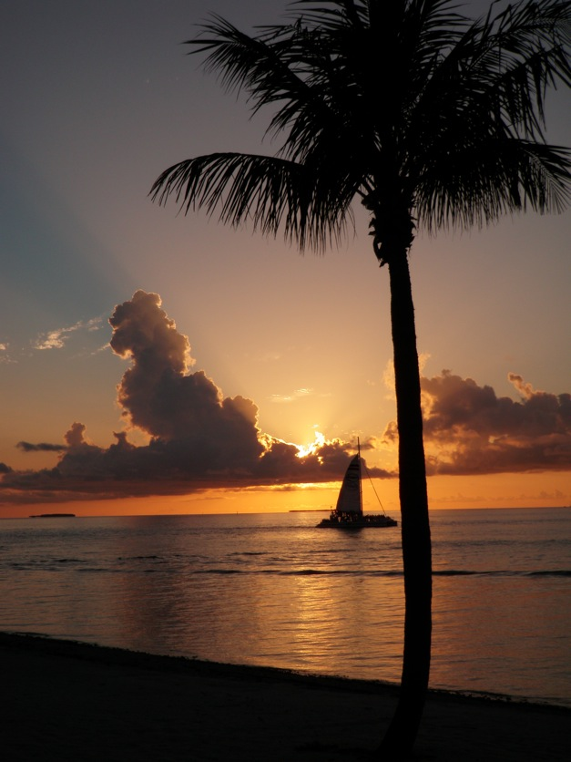 Sunset Key lives up to its name with this view from the Latitudes restaurant. (Photo by Tom Adkinson)