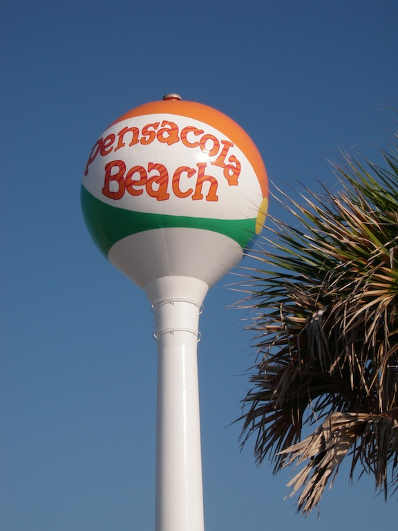 Water tower or beach ball? You decide. (Photo: Tom Adkinson)