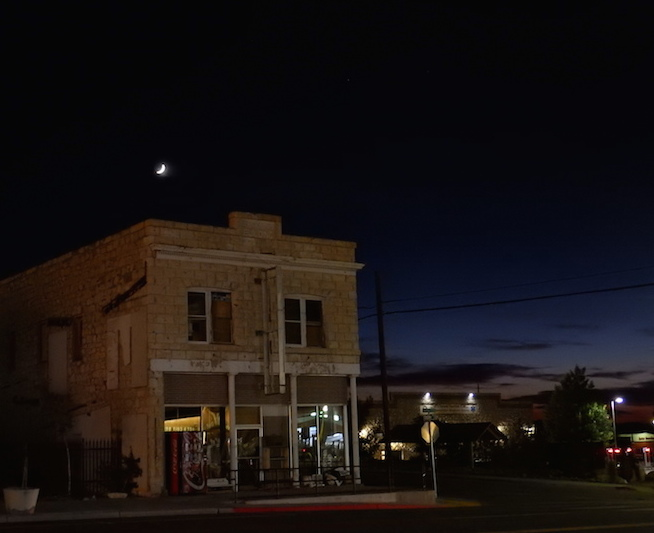Tonopah is known for mucking . . . and dark night skies. (Photo: Tom Adkinson)
