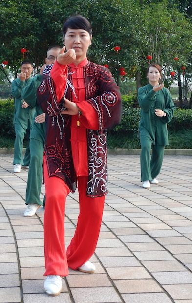 Tai chi in Wenzhou. (Photo: Tom Adkinson)